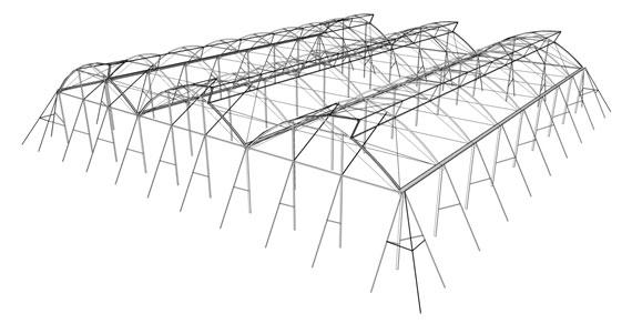 invernadero k2 estructura