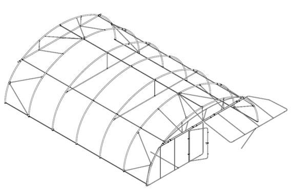 tunel agricola estructura