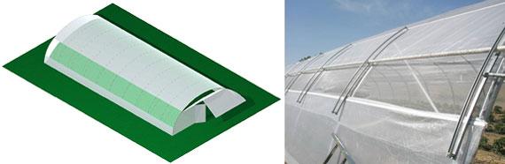 tunel agricola ventilaciones